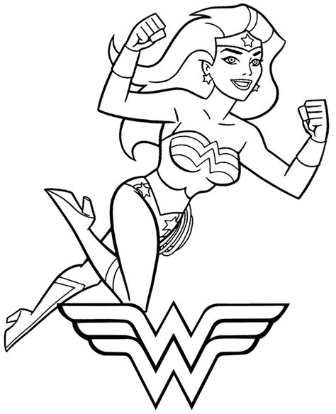 high quality  woman coloring page  print