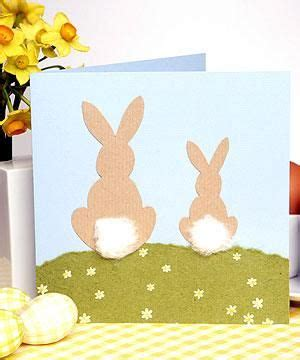 ingenious easter bunny cards    diy easter
