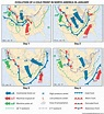 weather: evolution of a weather system over North America ...