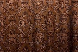 Brown vintage curtain as background Stock Photo Colourbox