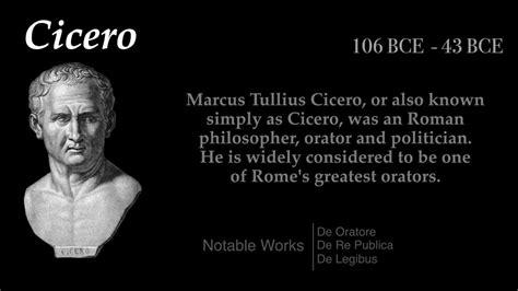 Cicero, Roman Statesman And Orator
