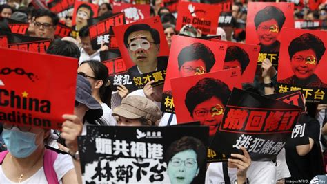 hong kong citizens stage huge rally  china