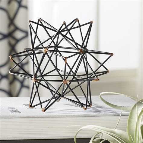 mercury row wire star blackgold iron sculpture reviews