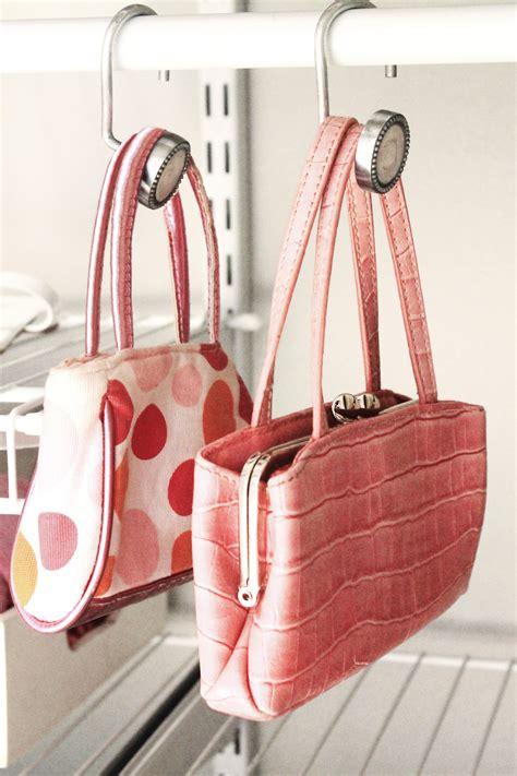 How To Organize Purses  Keep Handbags Organized