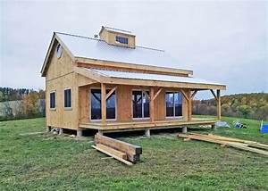 Kits for 20 x 30 Timber Frame Cabin - Jamaica Cottage Shop