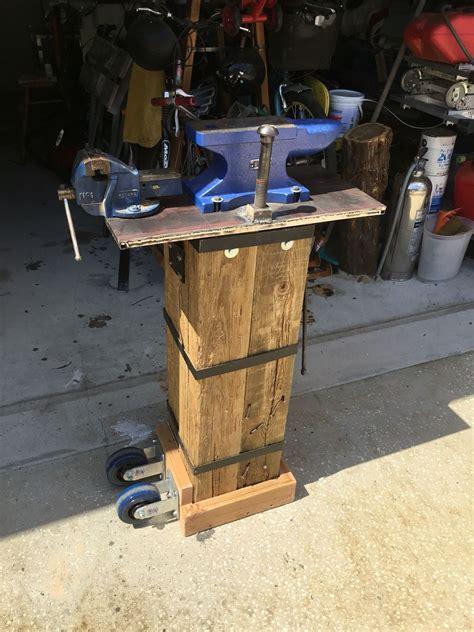 portable anvil stand forging tools blacksmith tools
