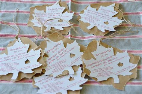 herbst geburtstag kinder einladungskarten z b zur erntedankfeier oder sonstigem herbstfest kreativ im herbst