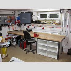 Arbeitsplatte Für Die Werkstatt Selber Bauen Semiautark