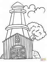 Lighthouse Sweden Coloring Pages Realistic Landscape Printable Drawing Line Print Popular Getcolorings Getdrawings Categories Coloringhome sketch template
