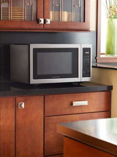 KitchenAid KCMS1655BSS 1.6 cu. ft. Countertop Microwave