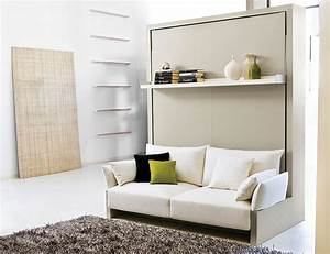 transformable murphy bed over sofa systems that save up on With built in sofa bed