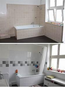 Fliesen Streichen Bad : mein badezimmer vorher nachher badezimmer pinterest ~ Articles-book.com Haus und Dekorationen