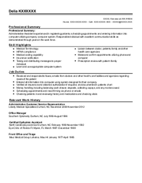 Unit Clerk Resume Exle by 28 Health Unit Coordinator Description Resume 2016