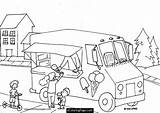 Ice Coloring Cream Truck Pages Parlor Printable Drawing Trucks Draw Easy Boys Birthday Sheets Monster 2nd Cool Malvorlagen Popular Getcolorings sketch template