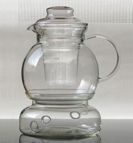 glas teekanne mit sieb kitchen paradise teekanne mit st 246 vchen und sieb sphere aus borosilikatglas jenaer glas 1 5