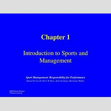 Ppt  Chapter 1 Introduction To Sports And Management Powerpoint Presentation Id3050760