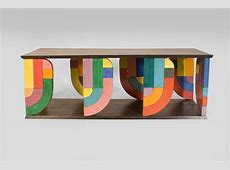 Coffee Table in PopArt Form Coffee, Pop art design and