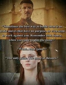 Game of Thrones - Petyr Baelish & Sansa Stark   Game of ...