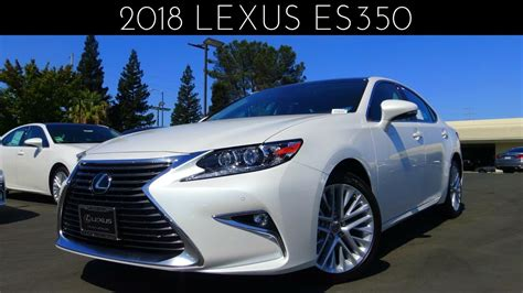 2018 Lexus Es350 Review & Test Drive 35 L V6 Youtube