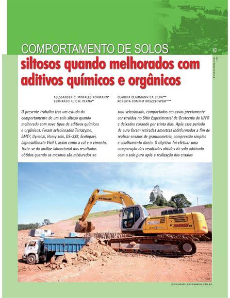 Comportamento dos solos siltosos