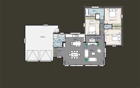 bureau maison finest maison de plainpied avec un garage un