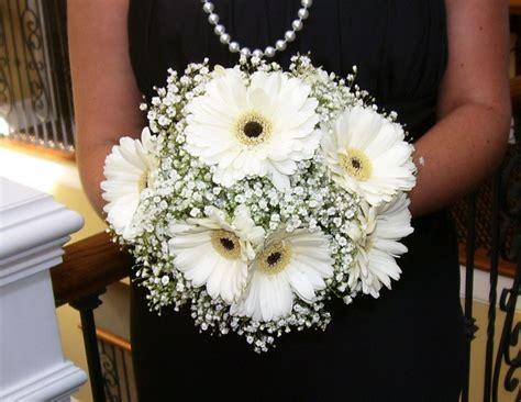 White Gerber Daisy Bouquet White Gerbera Daisy Bouquets