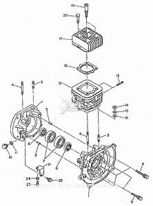 Robin  Subaru Ec12 Bomag Parts Diagram For Crankcase