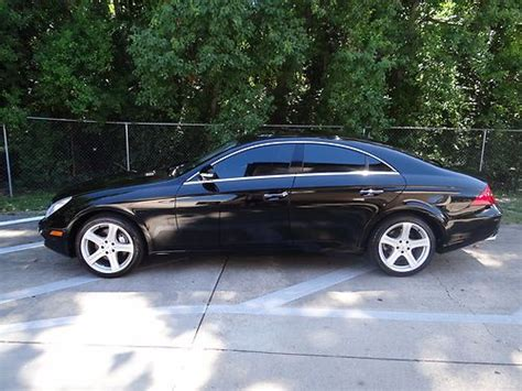 06 Mercedes Cls500 by Buy Used 06 Mercedes Cls500 Carfax Hk Audio Heated