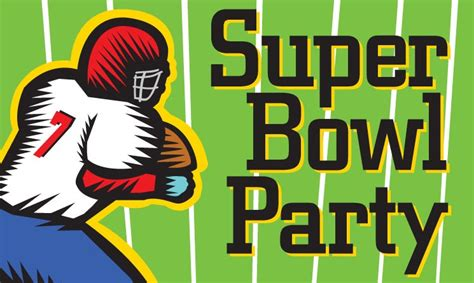 Super Bowl Party Clipart 10 Free Cliparts Download