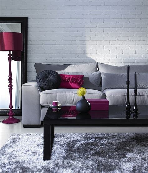 red and grey sofa 69 fabulous gray living room designs to inspire you