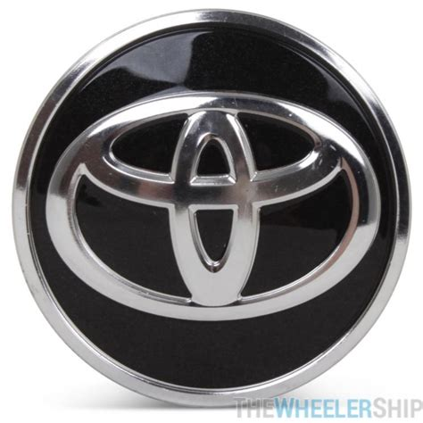 toyota wheel caps  oe genuine caps black