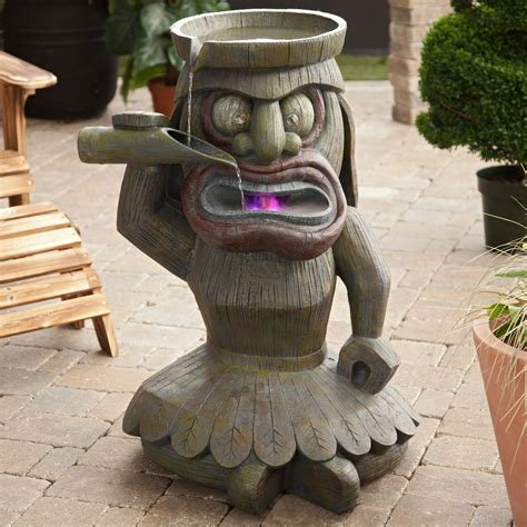 Tiki Chiminea For Sale by To It King Luau Water Ideas For Our