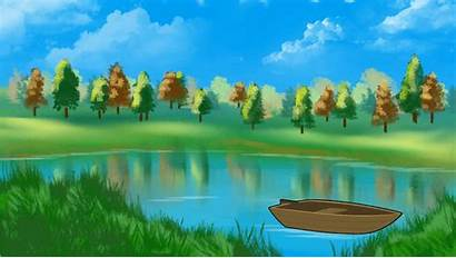 Clipart Lake Tranquil Nature Clip Scenic Clipground