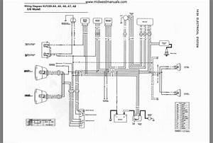 1997 Kawasaki Bayou 300 Wiring Diagram