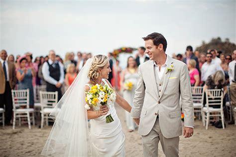 Brightly Colored Beach Wedding In Sayulita, Mexico