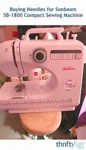 Sunbeam Sewing Machine Sb1800 Manual