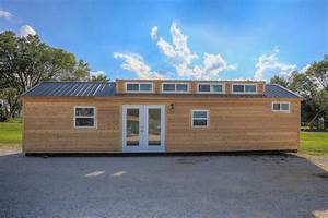 40ft Tiny House Built Using a 'Disguised' Shipping Container!
