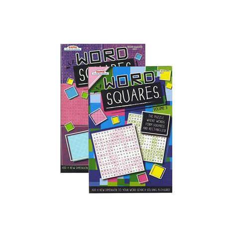 bazic products 24 units of kappa word squares word finds puzzle book