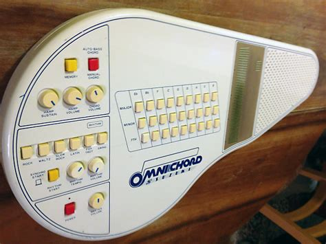 Suzuki Omnichord Om 27 by Vintage Suzuki Omnichord Om 27 Analog Autoharp Synthesizer