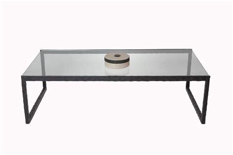 plateau cuisine design table basse en verre et fer mobilier design décoration