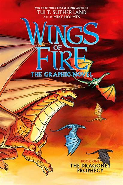 Wings Fire Novel Prophecy Dragonet Graphic Tui
