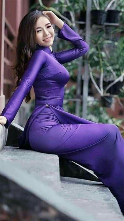pin  khiem hoang  ao dai   vietnamese dress