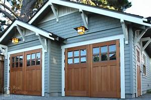 exciting renovations starting at our brown house simply With brown carriage garage doors