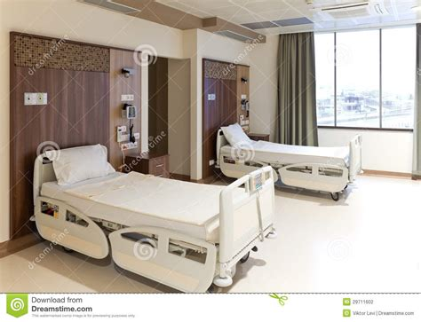 hopital chambre chambre de hôpital vide moderne photographie stock image