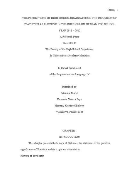 Thesis paper | Survey Methodology | Questionnaire