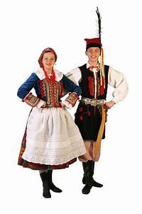 POLSKA WIRTUALNA: Krakowski strój ludowy.