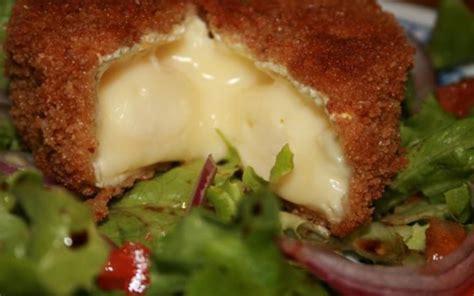 fourchette cuisine recette camembert pané pas chère et simple gt cuisine étudiant
