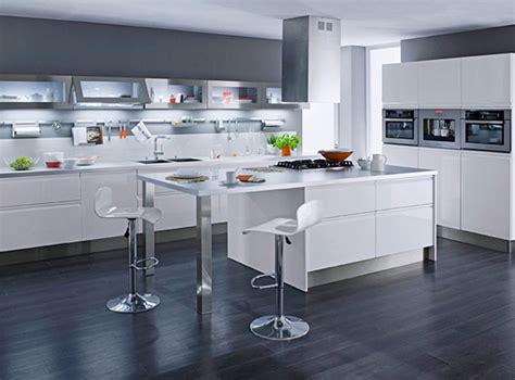 Deco Cuisine Blanche Design by Dix Mod 232 Les De Cuisines Design Pas Ch 232 Res Inspiration