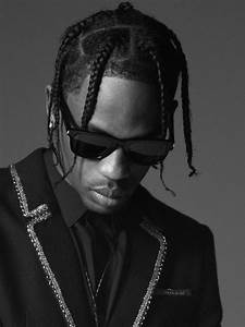 Anthony Vaccarello Taps Travis Scott As The New Face Of