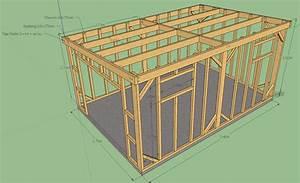 plan d39abri de jardin en bois gratuit les cabanes de With cabane de jardin plan
